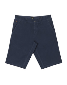 Boss Orange Mens Blue Schino Lightweight Slim Shorts
