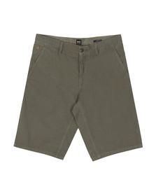 Boss Orange Mens Green Schino Lightweight Slim Shorts