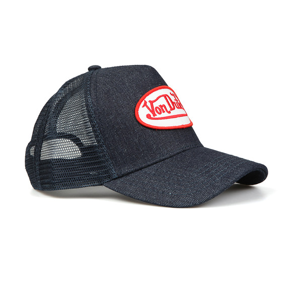 Von Dutch Mens Blue Trucker Cap  main image