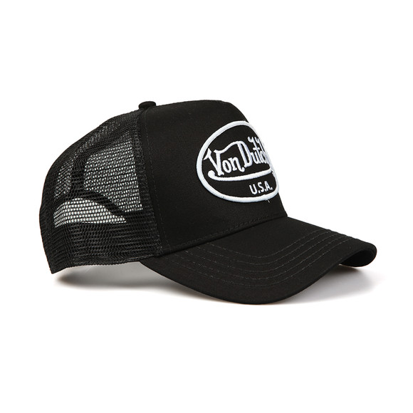 Von Dutch Mens Black U.S.A Trucker Cap main image