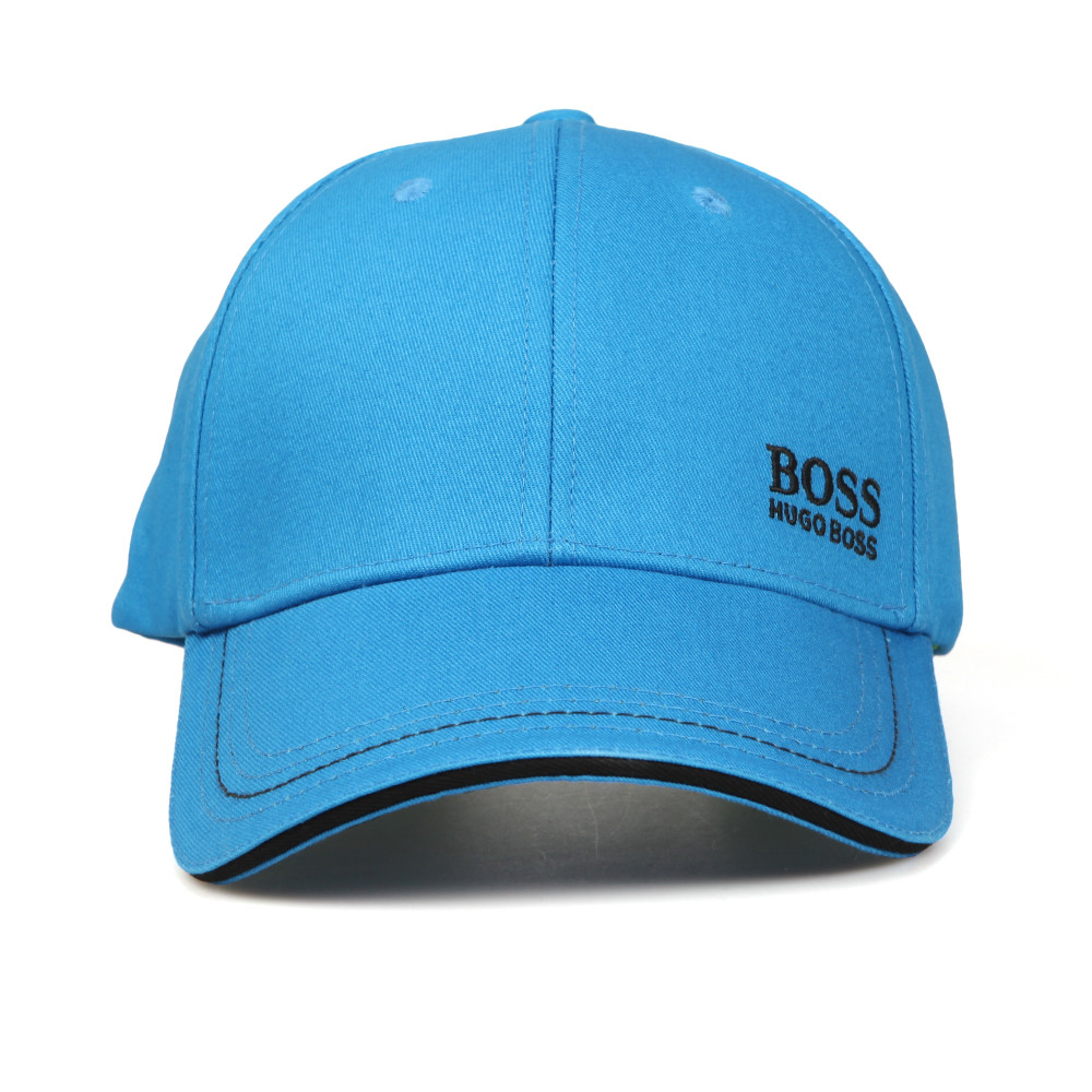 BOSS Green Mens Blue Small Logo Cap 5d3c934d434