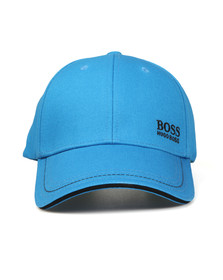 BOSS Green Mens Blue Small Logo Cap