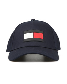 Tommy Hilfiger Mens Blue The Flag Cap