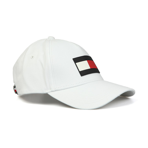 Tommy Hilfiger Mens White The Flag Cap main image