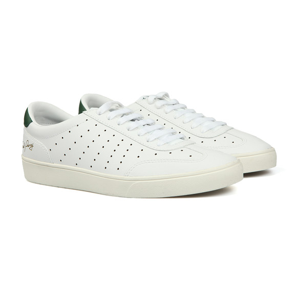 Fred Perry Sportswear Mens White Umpire Leather Trainer main image