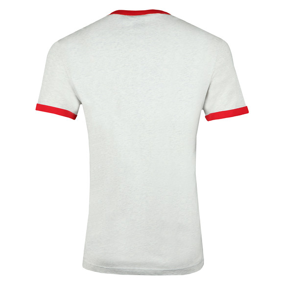 G-Star Mens White S/S Ringer Tee main image