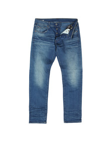 G-Star Mens Blue Slim Firro Stretch Denim Jean