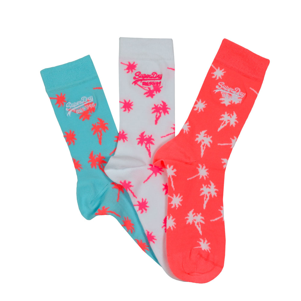 Palms Sock Triple Pack Socks main image