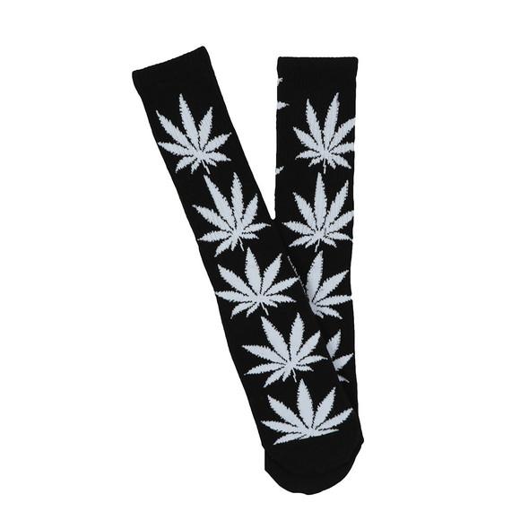 HUF Mens Black Plantlife Socks main image