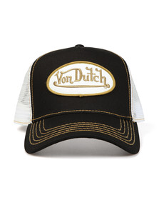 Von Dutch Mens Black Trucker Cap
