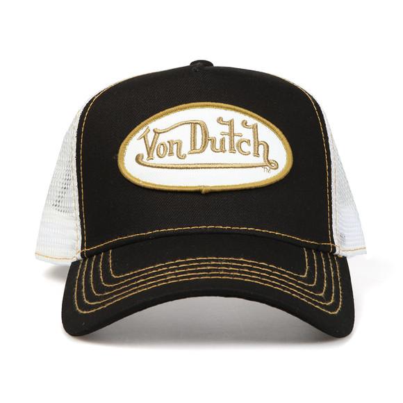 Von Dutch Mens Black Trucker Cap  main image