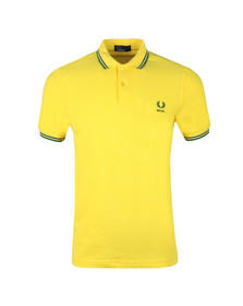 Fred Perry Mens Yellow S/S Brazil Country Polo