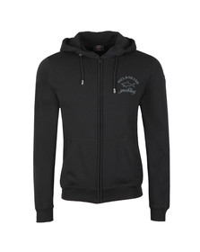 Paul & Shark Mens Black Full Zip Logo Hoody