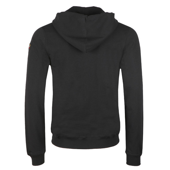 Paul & Shark Mens Black Full Zip Logo Hoody main image