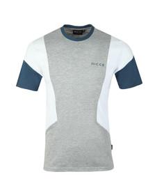 Nicce Mens Grey Union T-Shirt