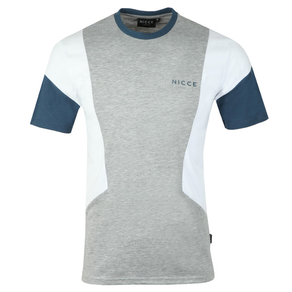 Nicce Mens Grey Union T-Shirt main image