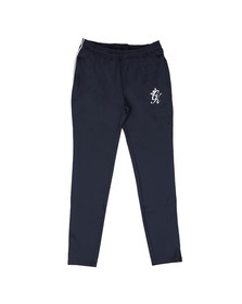 Gym King Mens Blue Piped Poly Pant