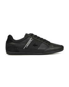 Lacoste Mens Black Chaymon 318 5 US CAM Trainer