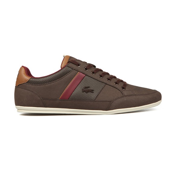 Lacoste Mens Brown Chaymon 318 2 CAM Trainer main image