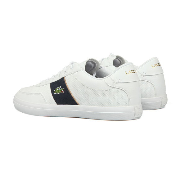 Lacoste Mens White Court-Master 318 Trainer main image