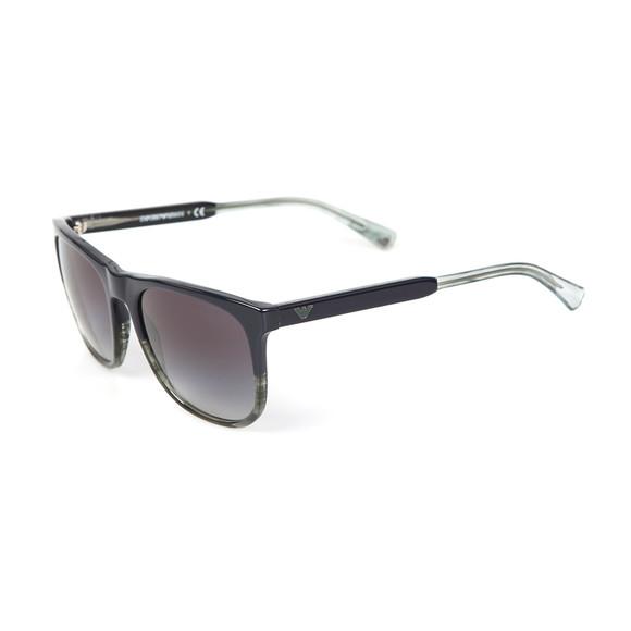 Emporio Armani Mens Blue EA 4099 Sunglasses main image