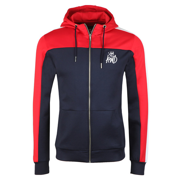 Kings Will Dream Mens Blue Mert Poly Zip Hoodie main image