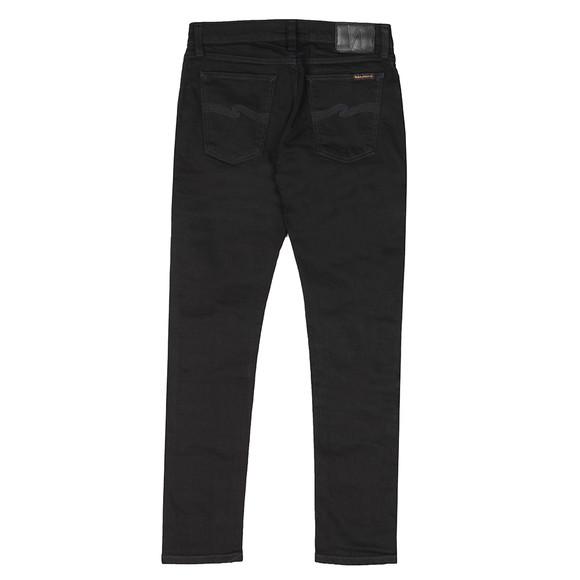 Nudie Jeans Mens Black Skinny Lin Jean main image
