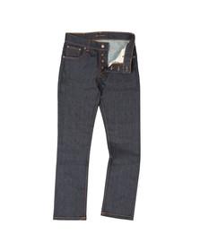 Nudie Jeans Mens Blue Grim Tim Jeans