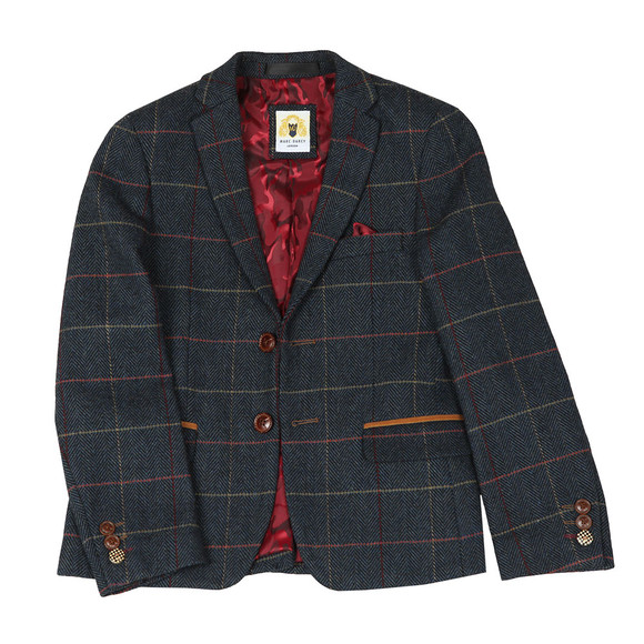 Marc Darcy Boys Blue Boys 3 Piece Suit