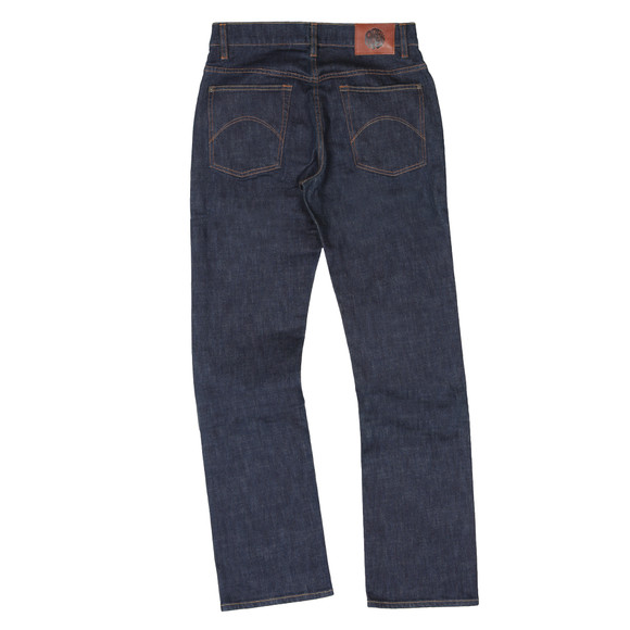 Pretty Green Mens Blue Burnage Regular Fit Jean main image