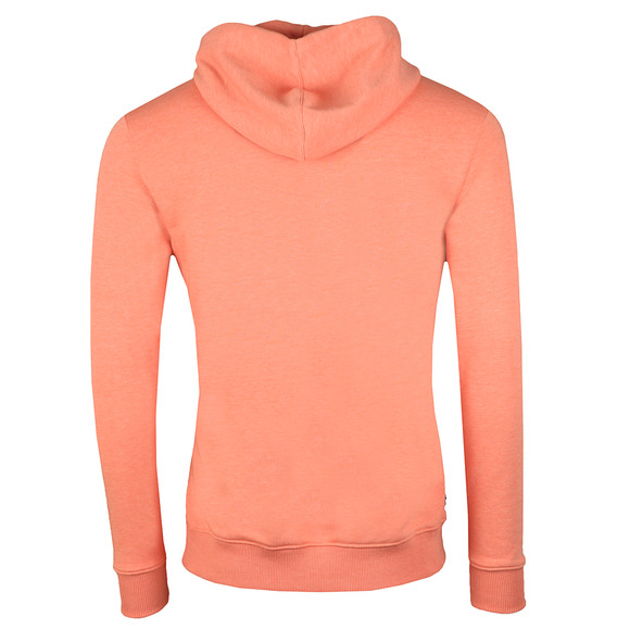 Gym King Mens Orange Over The Head Hooded Top main image