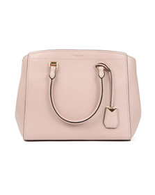 Michael Kors Womens Pink Benning Large Satchel
