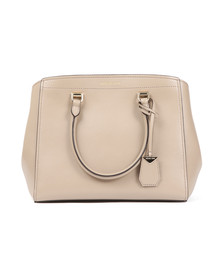 Michael Kors Womens Beige Benning Large Satchel