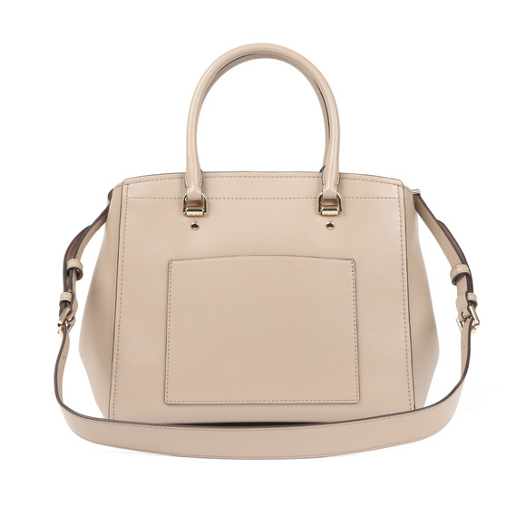 Michael Kors Womens Beige Benning Large Satchel main image