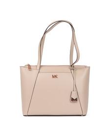 Michael Kors Womens Pink Maddie Mid East West Tote Bag