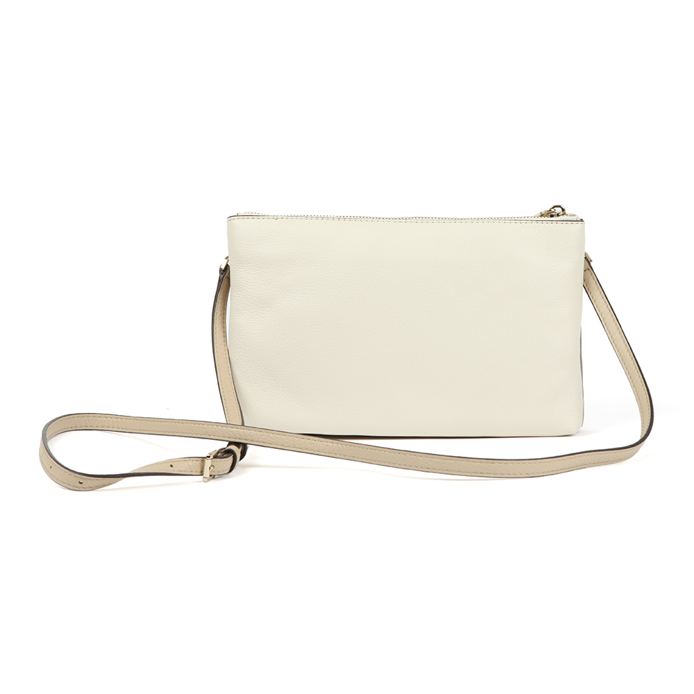 Two Tone Double Zip Crossbody Bag main image