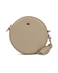 Michael Kors Womens Beige Crossbody Mid Canteen Bag
