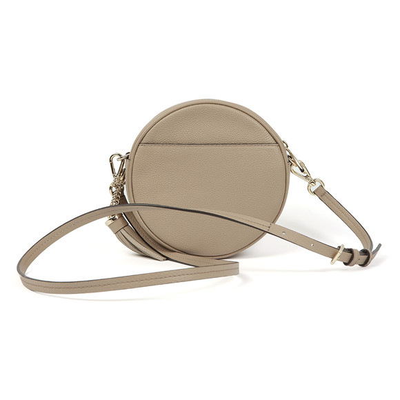Michael Kors Womens Beige Crossbody Mid Canteen Bag main image