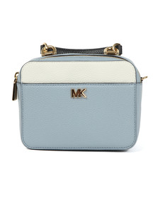 Michael Kors Womens Blue Mini GTR Strap Crossbody Bag