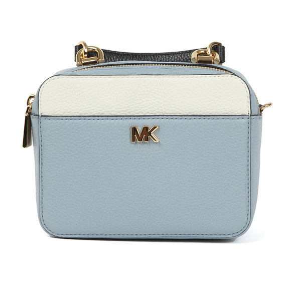 Michael Kors Womens Blue Mini GTR Strap Crossbody Bag main image