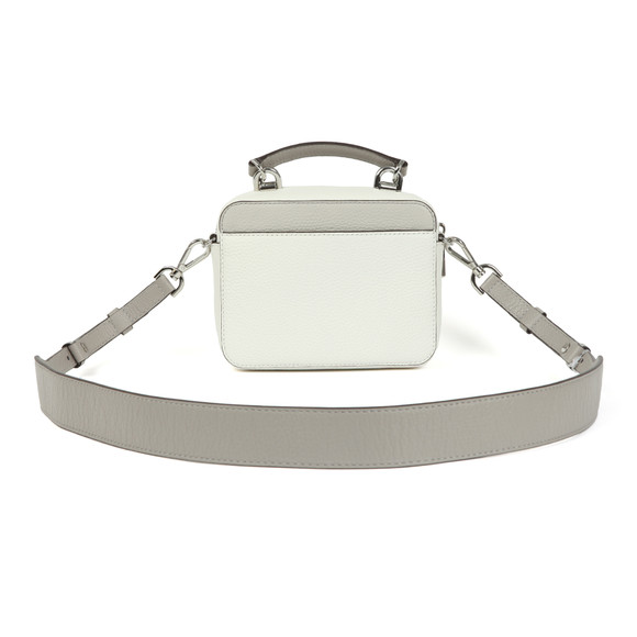Michael Kors Womens White Mini GTR Strap Crossbody Bag main image