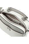 Michael Kors Womens White Mini GTR Strap Crossbody Bag