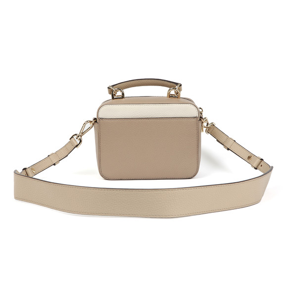 Michael Kors Womens Beige Mini GTR Strap Crossbody Bag main image