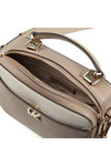 Michael Kors Womens Beige Mini GTR Strap Crossbody Bag