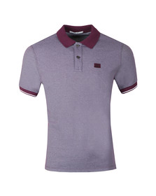 C.P. Company Mens Red Tacting Polo Shirt