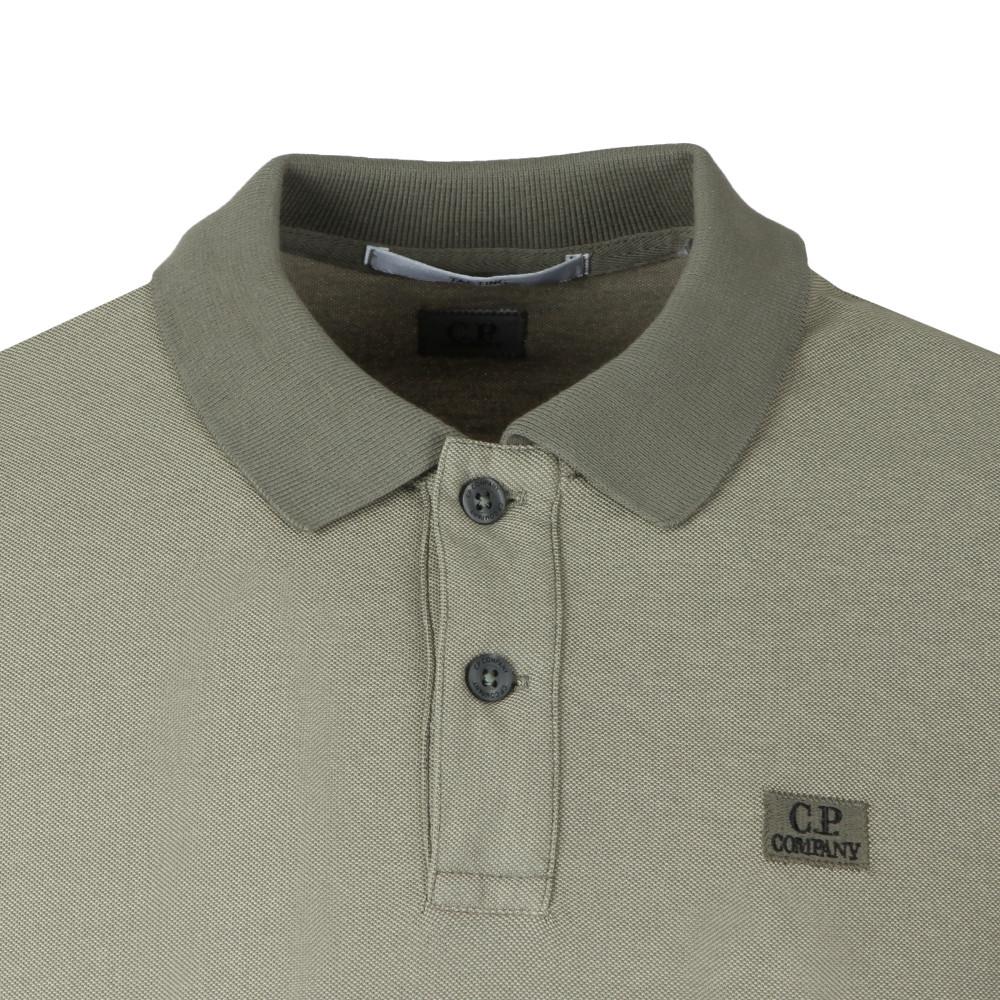 Slim Fit Long Sleeve Polo Shirt main image