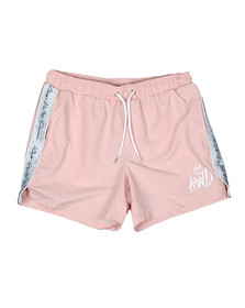 Kings Will Dream Mens Pink Higson Taped Swim Short