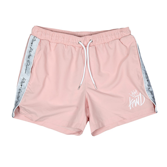 Kings Will Dream Mens Pink Higson Taped Swim Short main image