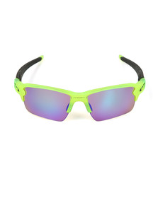 Oakley Mens Green Flack 2.0 XL Prizm Golf Sunglasses