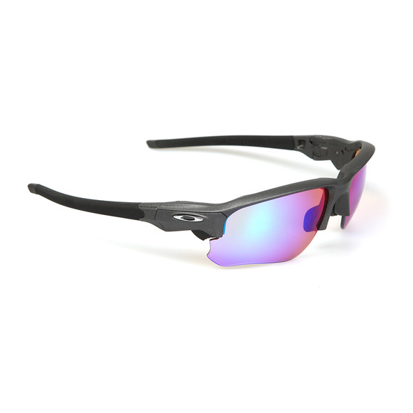 Oakley Mens Grey Flak Draft Prizm Golf Sunglasses